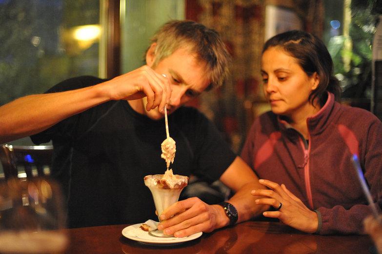 Rob & Neisha Making a Milkshake