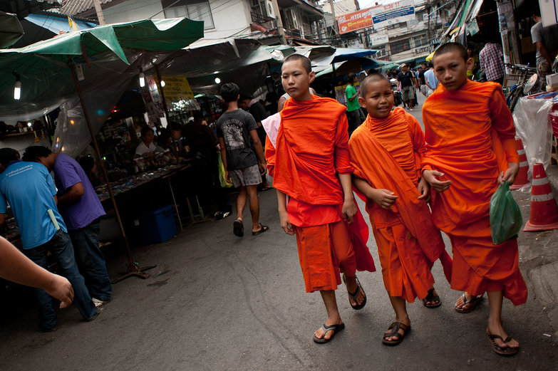Buddhist Novices