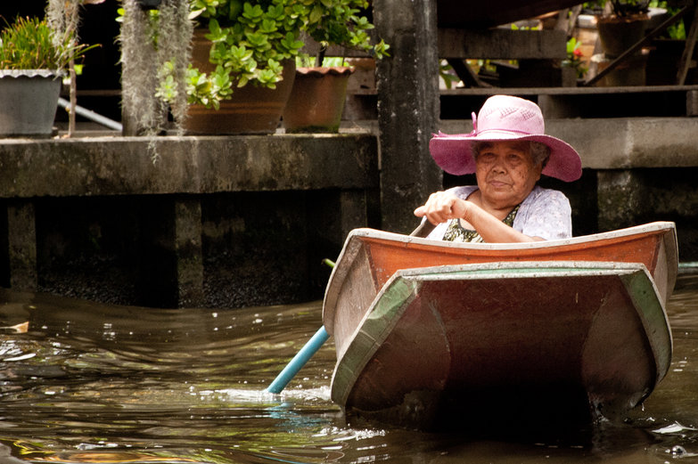 Woman on the Klong