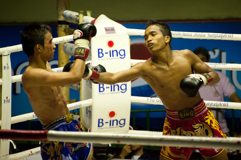 Muay Thai Boxing Punch
