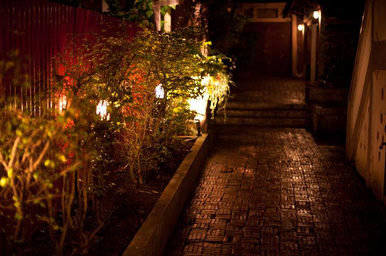Bann Kun-Pra Guesthouse Entryway