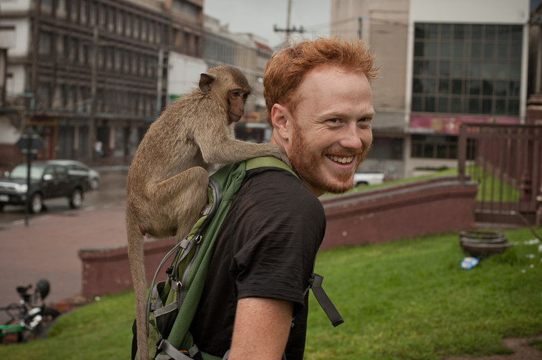 Monkey on Tyler