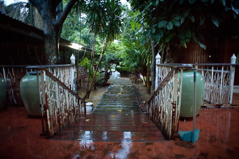 Bualuang in the Rain