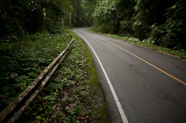 Road to Khao Yai National Park