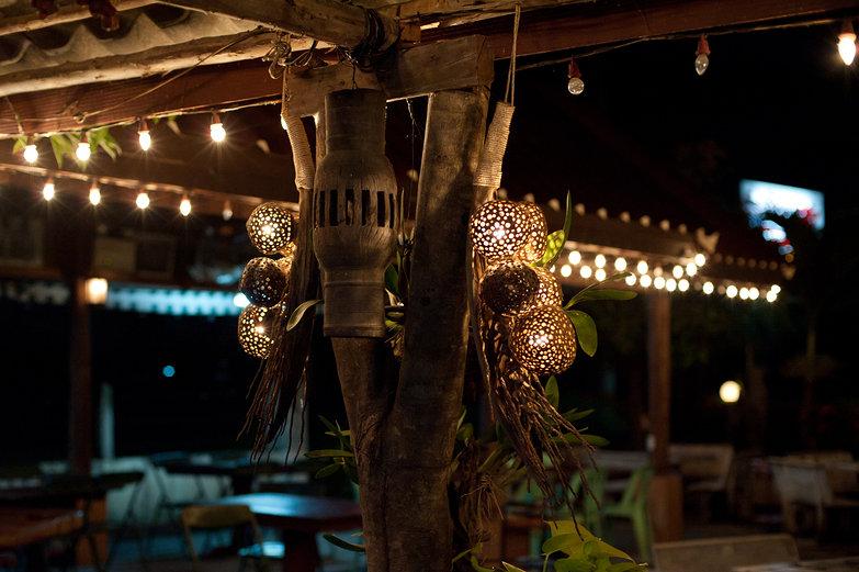 Thai Barbecue Restaurant Lights