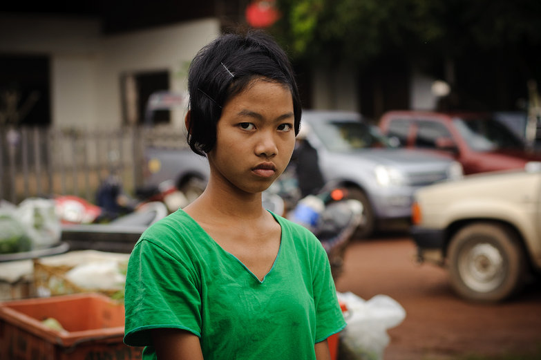 Thai Market Girl