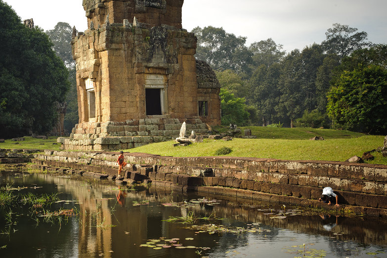 Prasat Suor Prat (Angkor Thom) & Kids