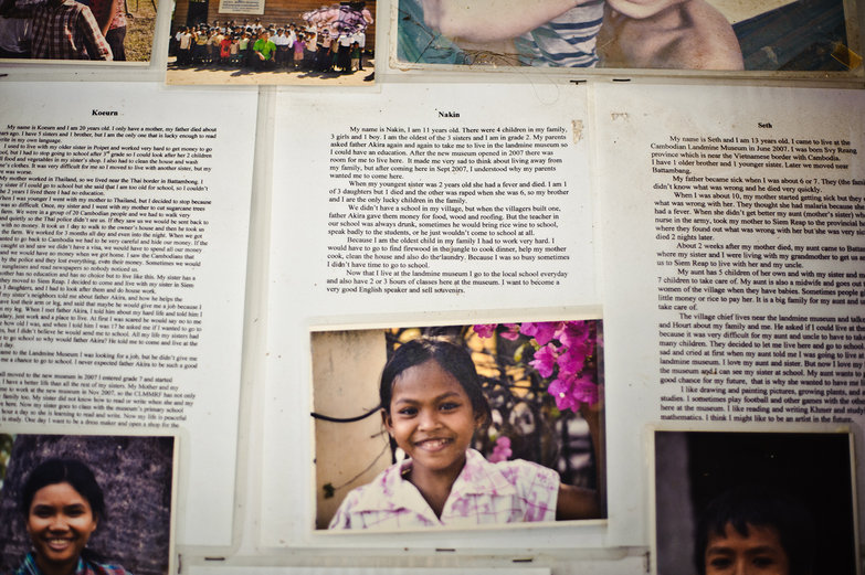 Landmine Victims' Stories