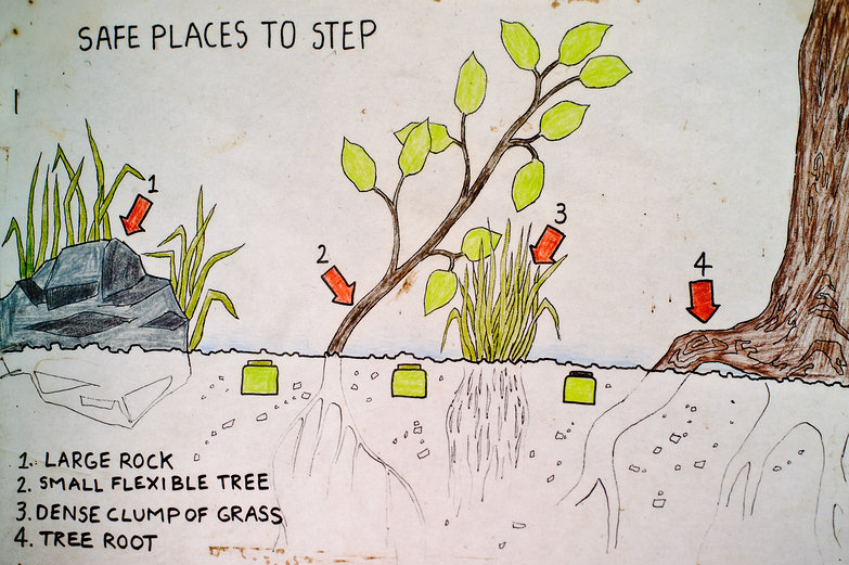 Safe Places to Step