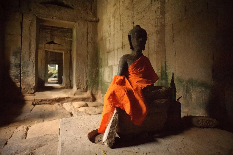 Angkor Thom Buddha Statue