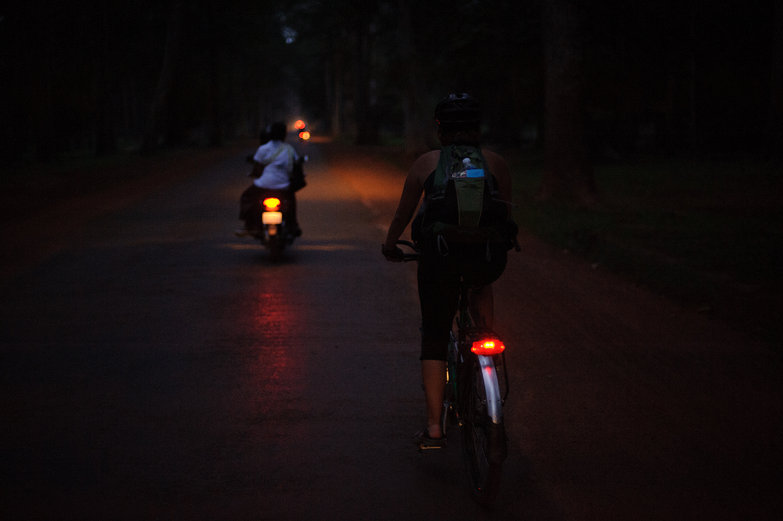 Cycling Home from Angkor Temples