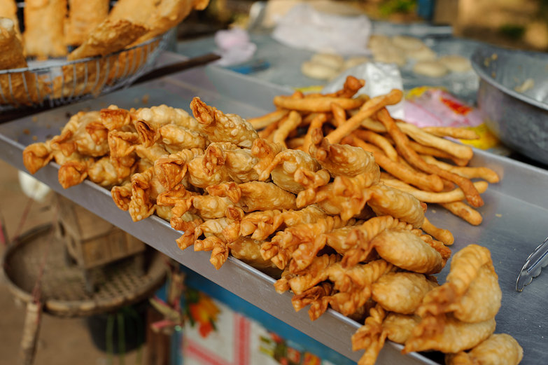 Cambodian Fried Pastries