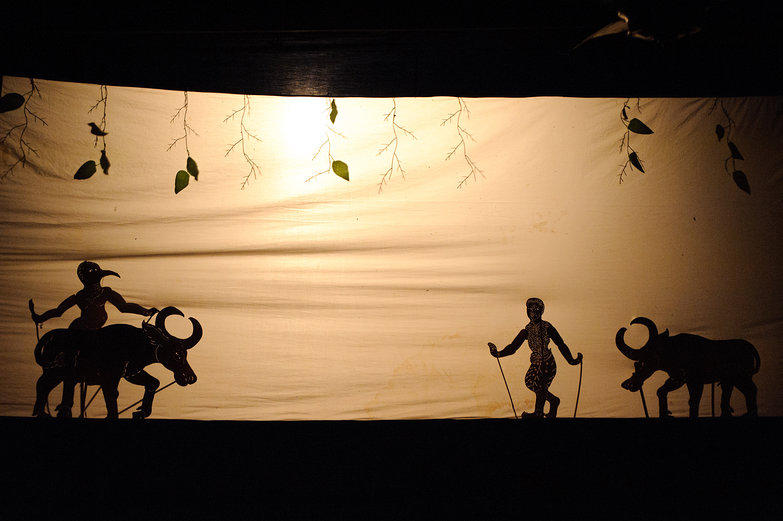 Cambodian Shadow Puppetry