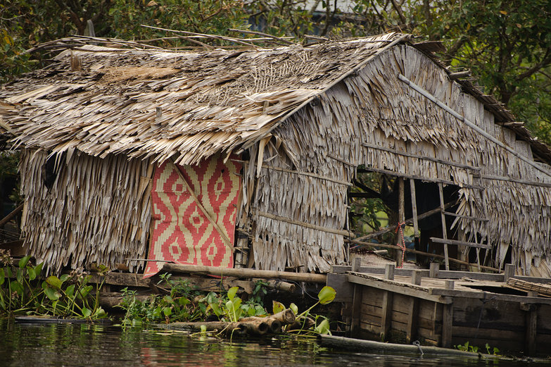 House on Tonle Sap Lake