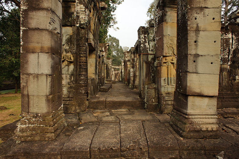 Temple Columns