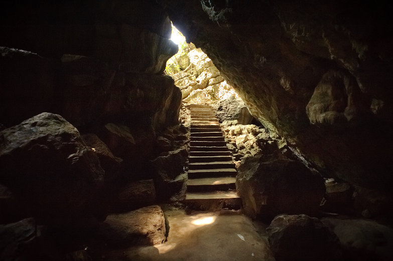Killing Cave in Phnom Sampeau
