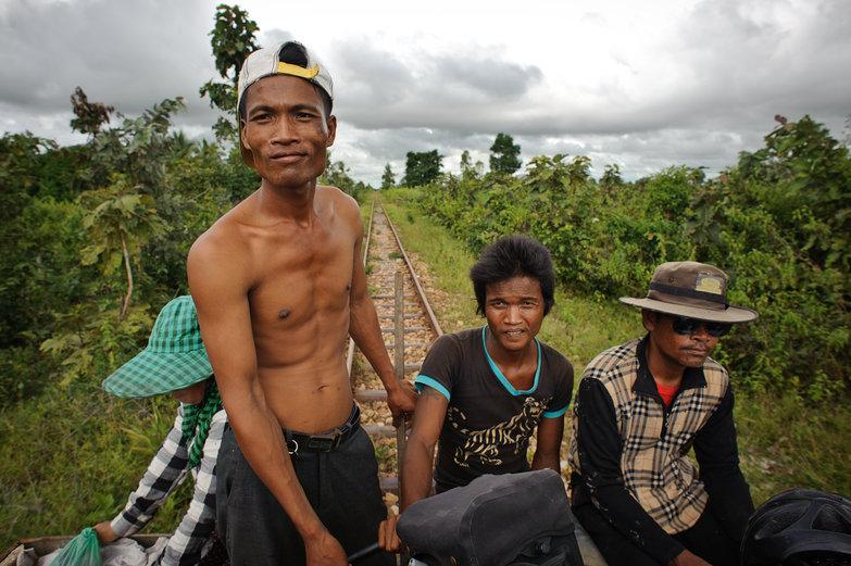 Bamboo Railway Driver