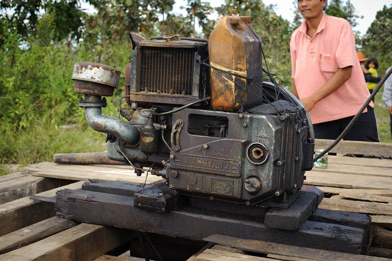 Bamboo Railway Motor