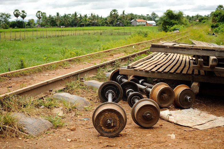 Bamboo Train Components