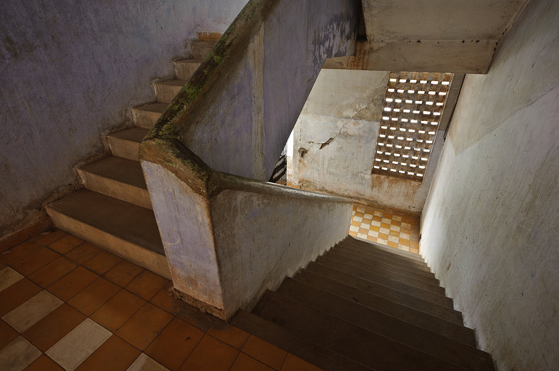 Tuol Sleng Genocide Museum Stairs