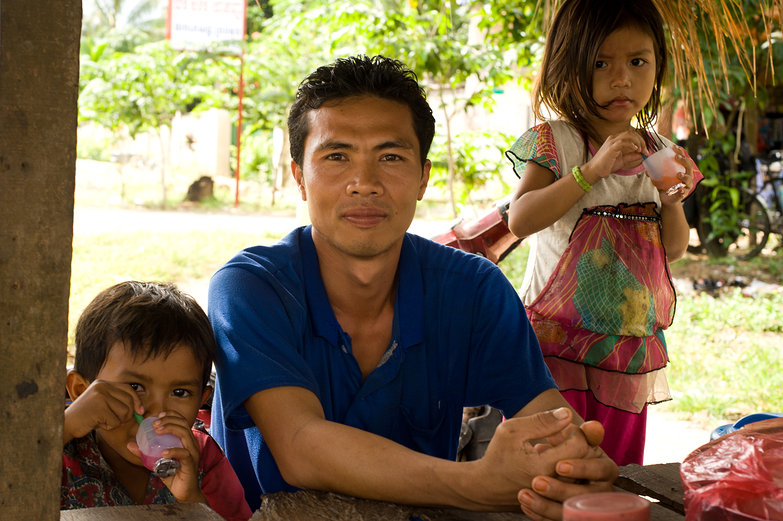 Cambodian Mango Farmer