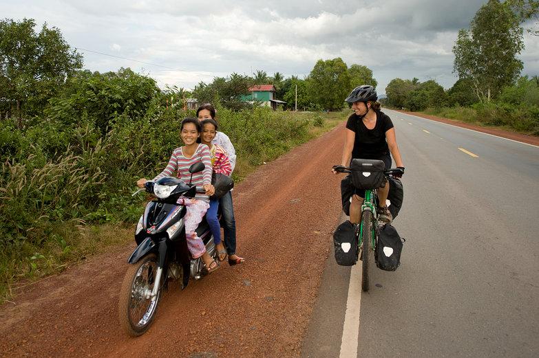 Cambodian Girls & Tara