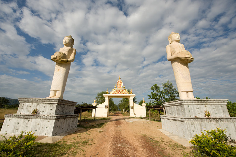 Cambodian Stonework
