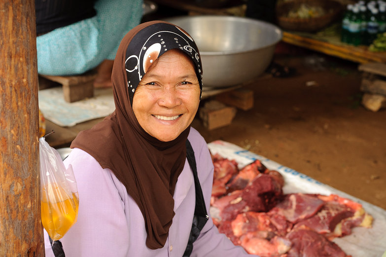 Cambodian Market Woman