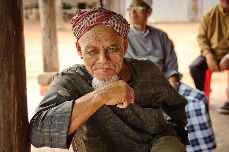 Serious Cambodian Man