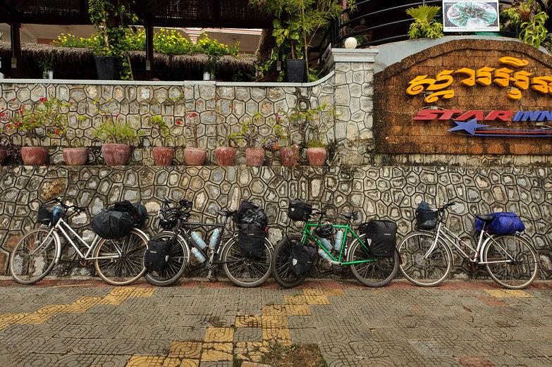 Four Touring Bikes