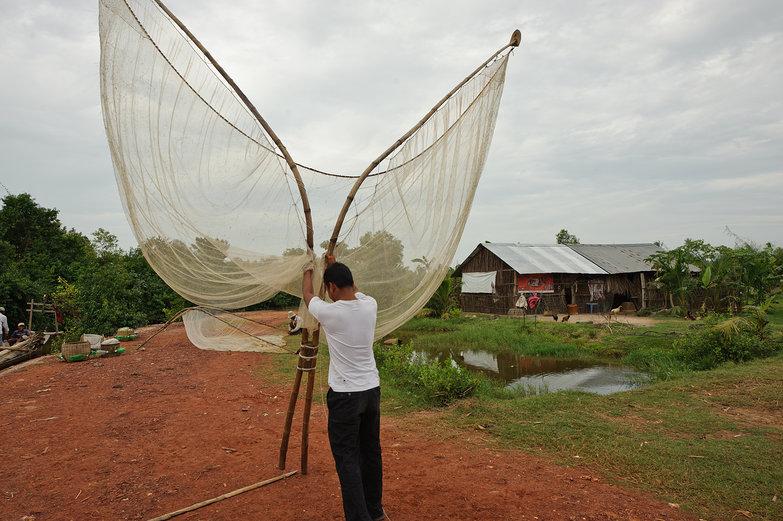 Cambodian Fishing Net