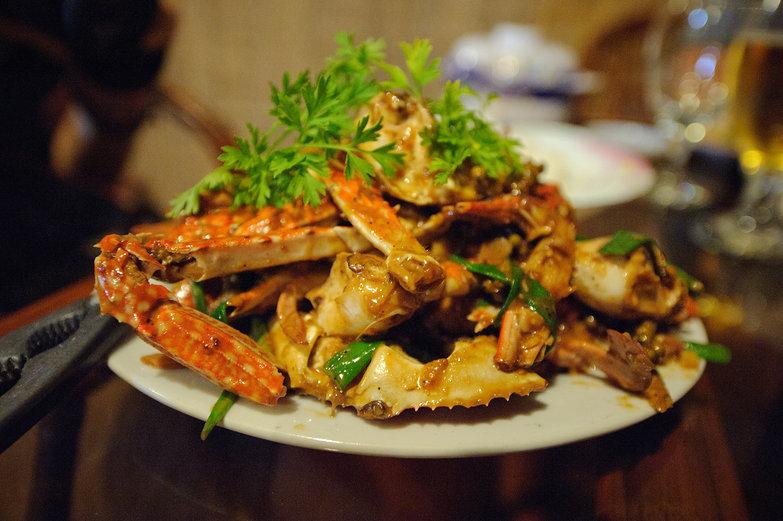 Crab in Pepper Sauce