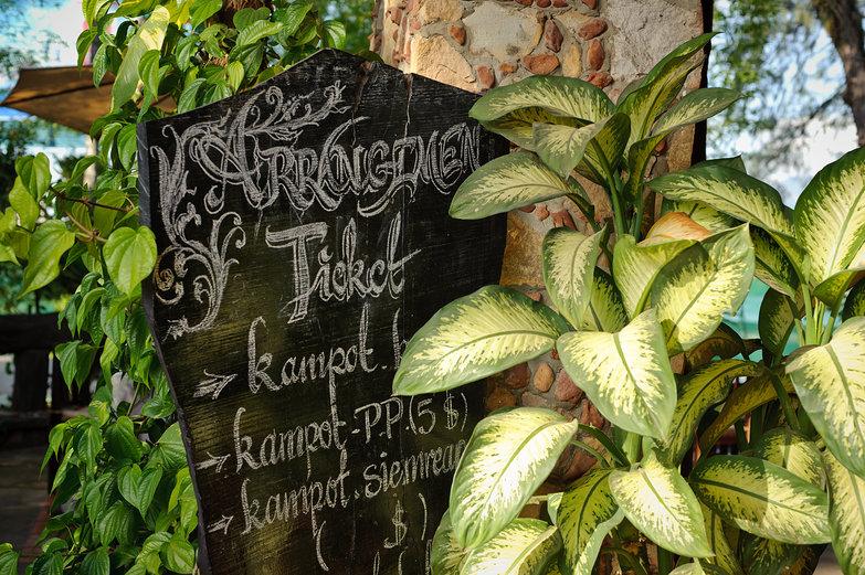 Moliden Guesthouse Blackboard