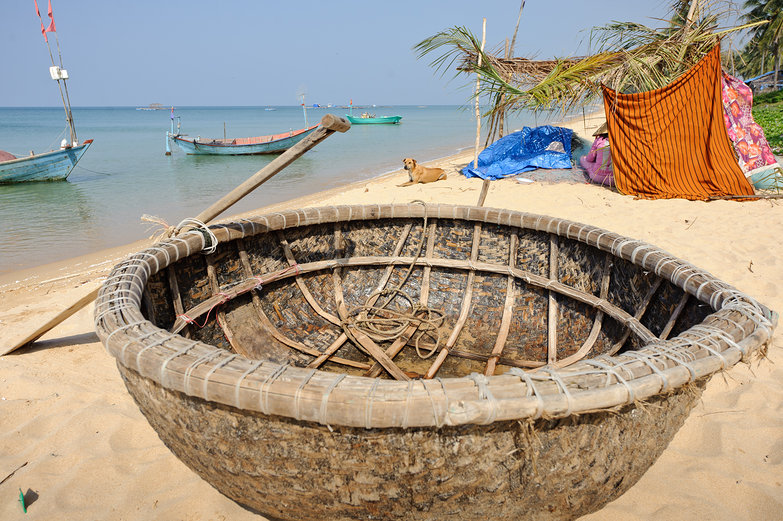 Thung Chai (Round Basket Boat)