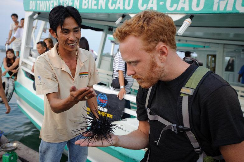 Tyler & Sea Urchin