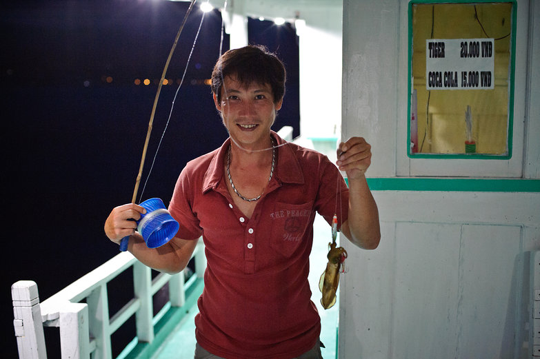 Catching a Squid
