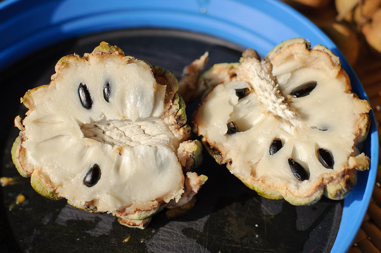 Cut Custard Apple