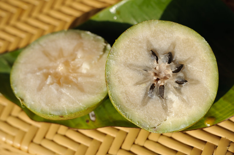Cut Star Apple