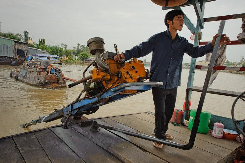 Vietnamese Ferry Captain