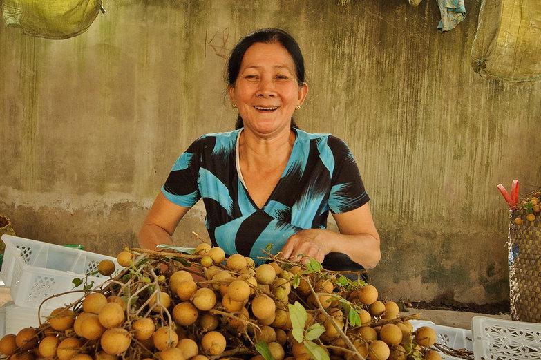 Vietnamese Longan Lady