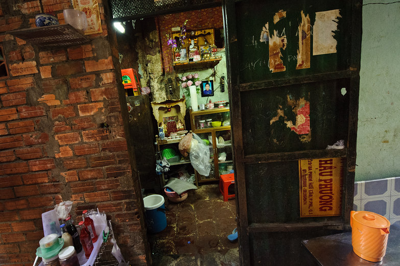 Ho Chi Minh City Alleyway Home