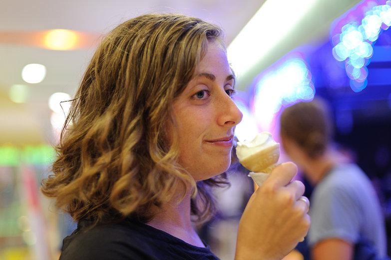 Tara w/ Ice Cream