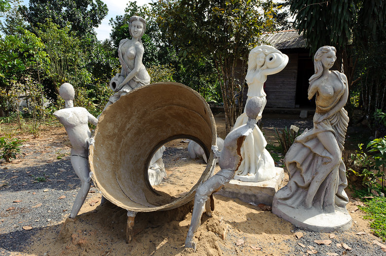 Interesting Vietnamese Statues...