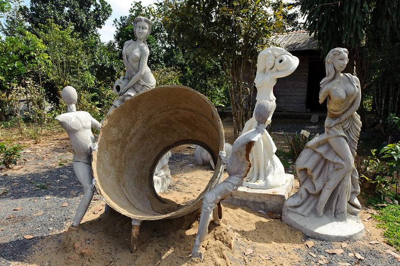 Interesting Vietnamese Statues...