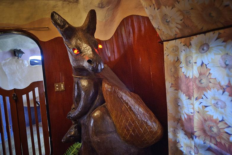 Crazy House Kangaroo, Da Lat, Vietnam