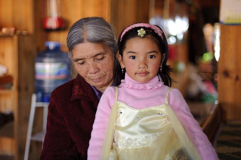 Little Vietnamese Princess & Grandma