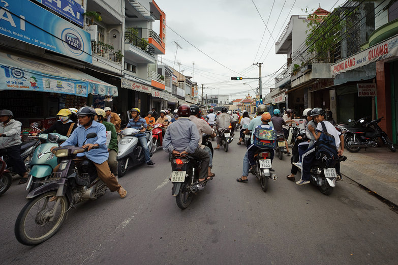 Typical Vietnamese Traffic