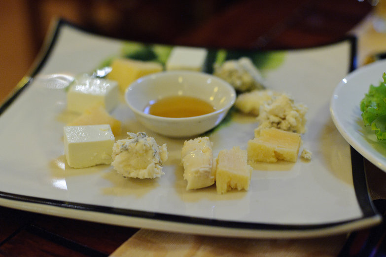 Cheese Platter & Honey