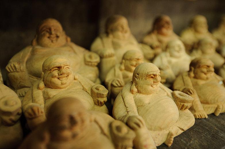 Carved Buddhas