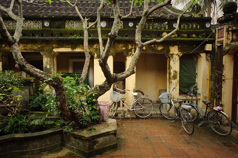 Hội An Museum of History and Culture Courtyard